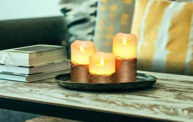 led-kaarsen-woonkamer-schaal
