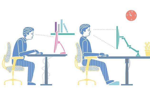 juiste-houding-ergonomisch