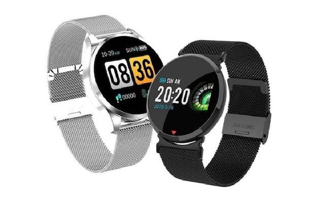 Parya Smartwatch steel 1