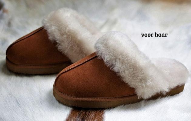 Walq-Wool-Fitted-Sloffen-vrouw-kleed